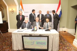 Signing Memorandum of Understanding Pest Control India and PestWatcher